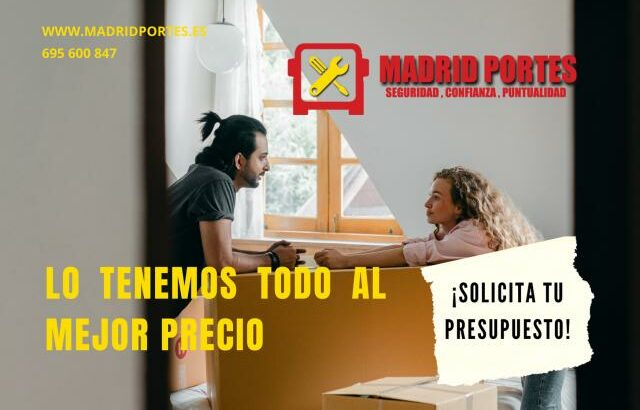 PORTES Y MUDANZAS PARLA- MOVING365